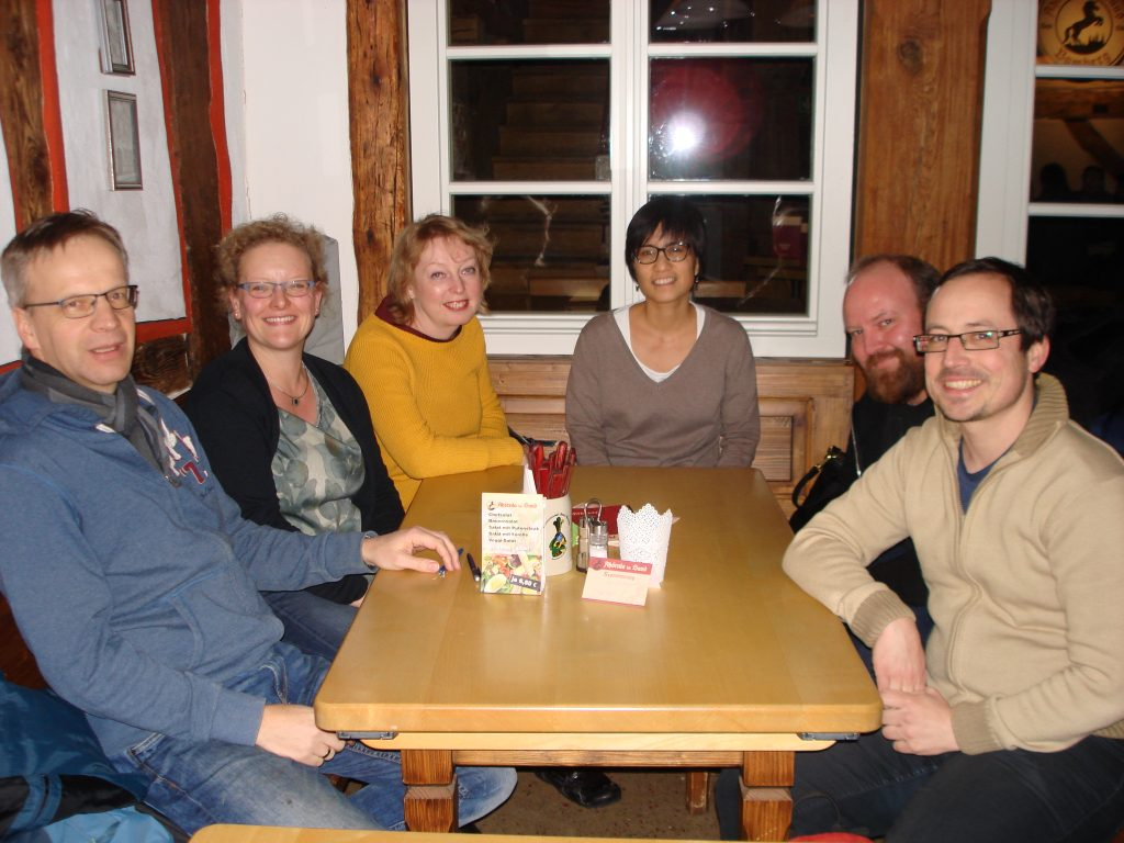 Founding committee of Bamberg Toastmasters