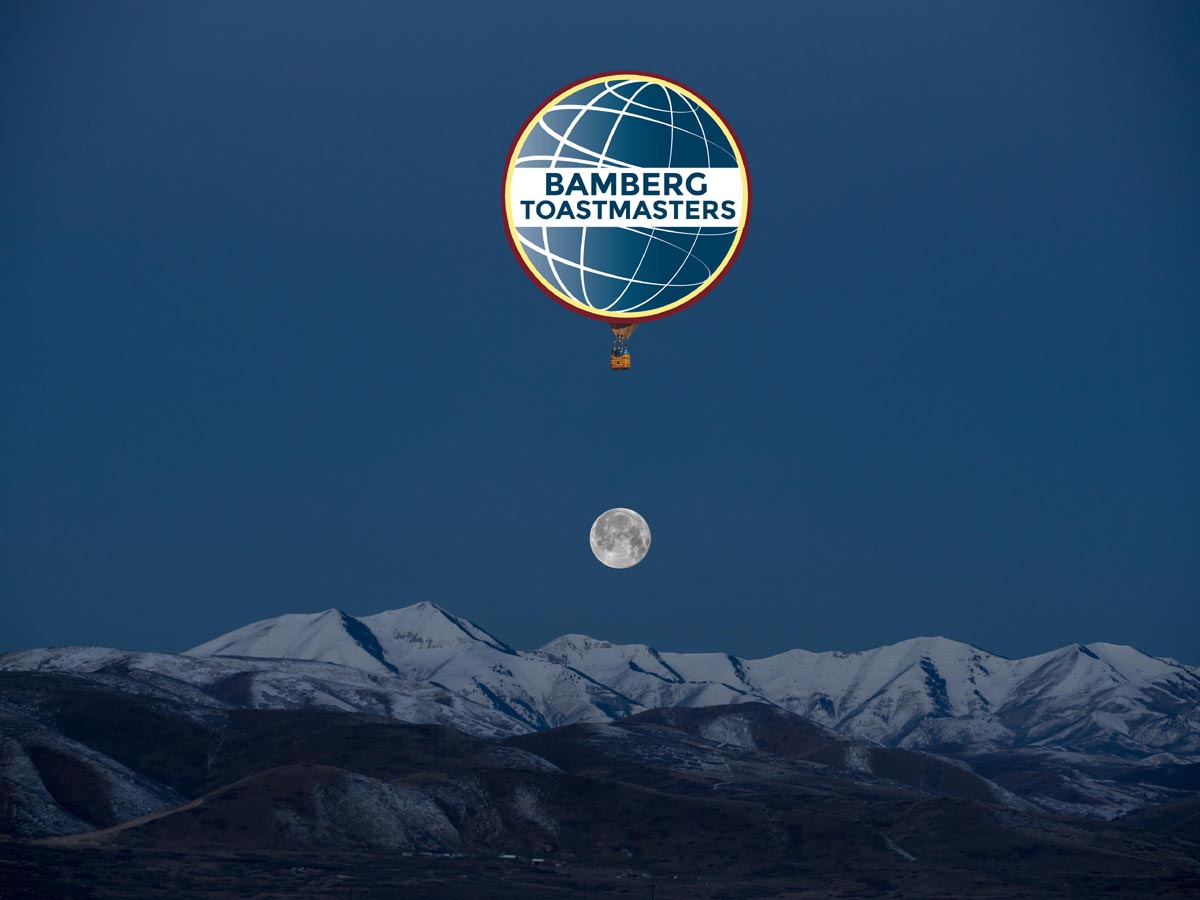 Bamberg Toastmasters over the moon!