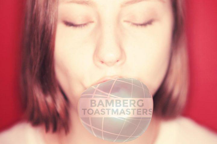 Bubbly meetings at Bamberg Toastmasters
