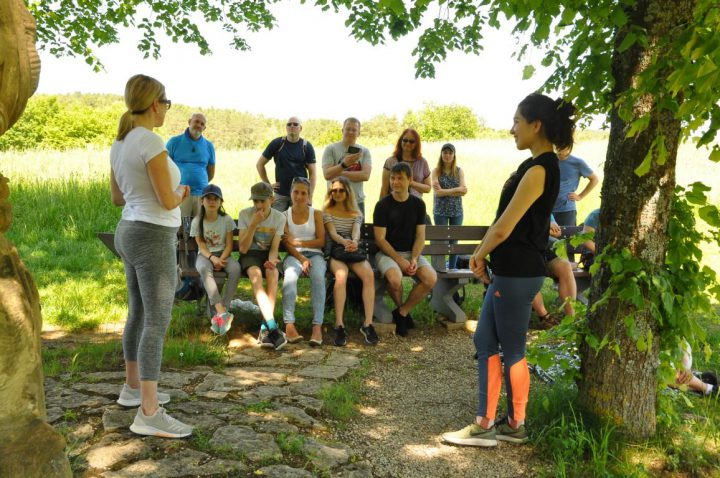 Our annual hiking tour/Toastmasters meeting included