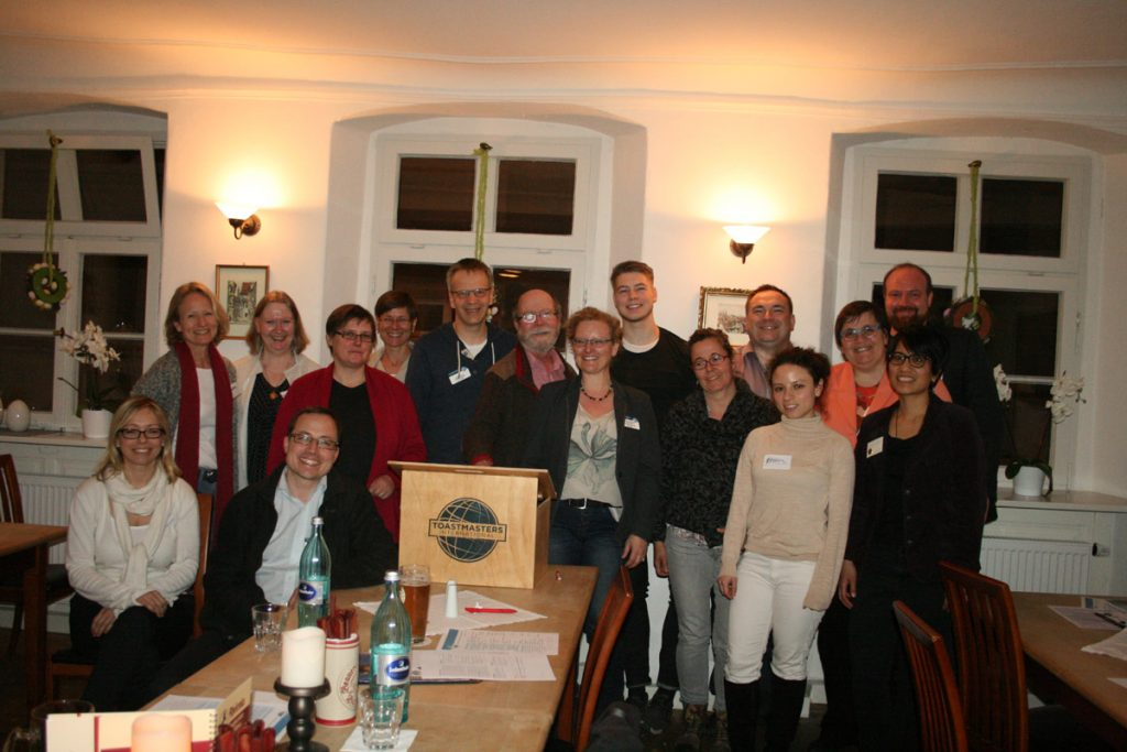 Bamberg Toastmasters Launch Meeting