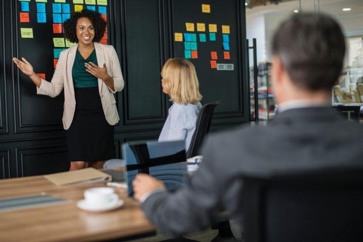 Speaking in your job